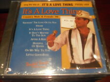 POCKET SONGS KARAOKE DISC PSCDG 1454 IT'S A LOVE THING COUNTRY CD+G MULTIPLEX
