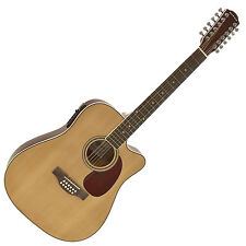 New Dreadnought 12 String Electro Acoustic Guitar by Gear4music