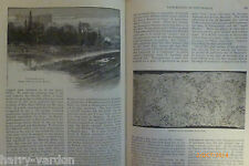 Nottingham Lace Making Local History Antique Victorian Illustrated Article 1884