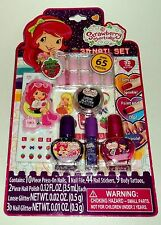 STRAWBERRY SHORTCAKE Over 65 Pieces Nail Accessories NIP Set1