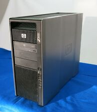 HP Z800 Workstation 1x Xeon QC X5677 3.46 6GB Quadro 1800 No HDD Ubuntu Linux