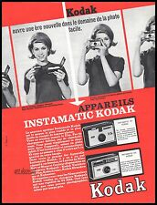 Publicité KODAK Appareil Photo Vintage Ad Advertising 1963 - 4j