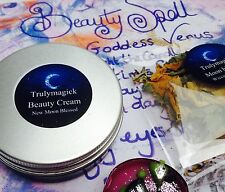 Super full moon ~spell cast BEAUTY CREAM Spell kit~Wicca Witchcraft~BEAUTY SPELL