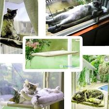 Kitty Kitten Window Mounted Basking Bed Pet Shelf Cat Perch Seat High Hammock KJ