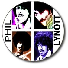 "PHIL LYNOTT/THIN LIZZY/ FABULOUS POP ART STYLE 1""/ 25 mm BUTTON BADGE"
