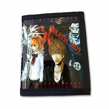 Death Note PU Leather Wallet / Light,Misa, Ryuk (DEN-B3A)