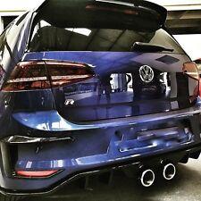 Golf 7 VII Heck Diffusor Heckansatz Heckschürze R R400 GTI GTD VW R32 Stoßstange