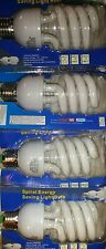 4pcs JUMBO 32 Watt CFL Light Bulb,125-150 W EQL 6500K Daylight INDOOR GROW BULBS