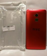 "HTC One Max *RED* (32GB Verizon) 4G LTE 5.9"" W/ EXTRAS Excellent Smart Phone"