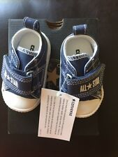 Converse Chuck Taylor All Star Step Ox Infant/Toddler Dark Denim size 2 **NEW**
