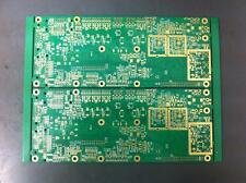 10xHigh Yield dbl sided Gold Plated PCB for Scrap/Recovery 218X162mm/134Grm each