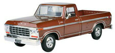 1979 Ford F-150 Custom Pickup Truck Brown 1/24 Scale Diecast Model No Box NEW