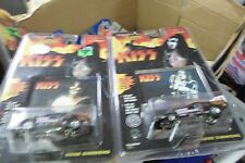 2 Johnny Lightning Racing Dreams KISS Gene Simmons RR's 1:64 Diecast  2 models