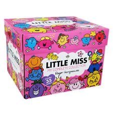 Roger Hargreaves Little Miss Collection 35 Books Box Set Little Miss Princess...