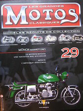 FASCICULE 29 MOTOS CLASSIQUES  MUNCH MAMMUTH 1967  MOTORCYCLE MOTORRAD