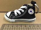 New Converse Chuck Taylor All Star HI Top Shoes Key Chain Black