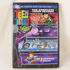 Teen Titans The Complete Third Season DC Comics Kids Collection 3rd DVD Set