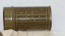 Anti buée pour masque à gaz US 1943