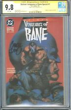 BATMAN: VENGEANCE OF BANE SPECIAL #1 CGC 9.8 SS SIGNED BY CHUCK DIXON