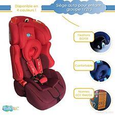 Siège auto ISOFIX évolutif Bébélol ® pour enfant groupe 1+2+3 normes ECE R44/04