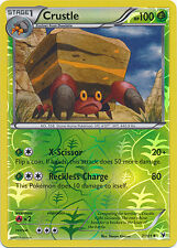Crustle Uncommon Reverse Holo Pokemon Card BW3 Noble Victories 7/101