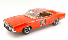 Hazzard Generale Lee Dodge Charger 1969 1:18 Model AMM964 AUTO WORLD
