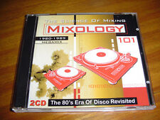 MIXOLOGY 101 CD -The 80's Era Of Disco Revisited. ULTIMIX 80's MEGAMIX FUNKYMIX