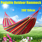 NEW Canvas Fabric Hammock Air Chair Hanging Swinging Camping Outdoor