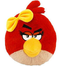 """~NEW~ Angry Birds: Red Girl Bird 16"""" inch Deluxe Plush With Sound Stuffed Toy"""