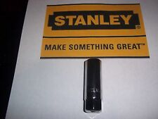 "Stanley Tool  Cr-V 3/8"" Drive 5/8 Spark Plug Socket Deep Head 6 Point MPN 86-380"