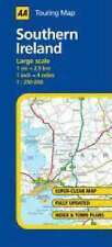 AA Road Map Southern Ireland (AA Touring Map)-ExLibrary