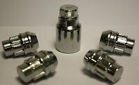 "JEEP CHEROKEE 92-01  ALLOY WHEEL LOCKING NUTS 1/2"" UNF LOCK NUTS"