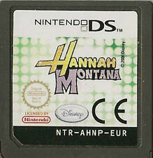 NINTENDO DS HANNAH MONTANA GAME CARTRIDGE ONLY