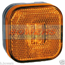 12V/24V MAN TGA TGL TGS TGM TGX SQUARE AMBER LED SIDE MARKER/POSITION LAMP/LIGHT