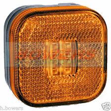 12V/24V MAN TGA TGL TGS TGM TGX Cuadrado ámbar LED Lámpara de posición de lado marcador// luz