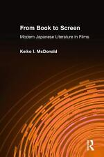 From Book to Screen: Modern Japanese Literature in Films-ExLibrary