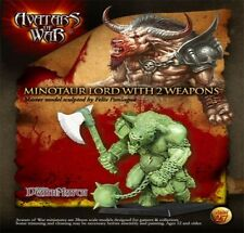 Avatars of War Minotaur Lord with 2 weapons Beasts Chaos Beastmen BNIB
