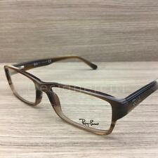Ray Ban RB 5169 RB5169 Eyeglasses Brown Ivory Horn 5542 Authentic 52mm