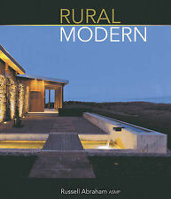Rural Modern: Rural Residential Architecture by Russell Abraham (Hardback, 2013)