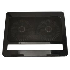 "USB LED 2 Fan Anti-slip Air Cooling Cooler Pad Stand for Notebook PC 15"" Laptop"