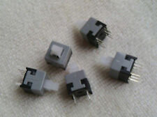 Push Button Switch Latching ON/OFF DPDT 6 Pin DIP 0.5A 30V DC 8.5x8.5mm 10PCS