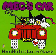 Preschool Story Book - Meg and Mog Story Book - MEG'S CAR - NEW