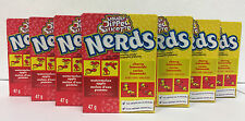Wonka Nerds Lemonade Wild Cherry & Apple Watermelon 7 Packs FREE SHIPPING