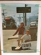 Draft Dodgers Poster Anti-war Peace Pin-up Young Men Toronto Sign 60's Politics