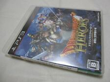 USED PS3 Dragon Quest Heroes Yamiryuu to Sekaiju no Shiro. Japanese Version.