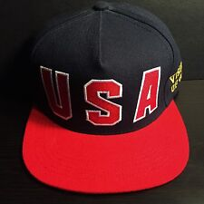 SUPREME USA VISIONS OF GOLD 5 PANEL CAP HAT box logo