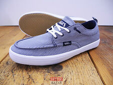 VANS MILLSY BOAT-SHOE/SNEAKER NEU NAVY-WHITE GR:US9 EU42 VANS SHOES OFF THE WALL