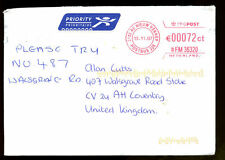 Netherlands 20074 Airmail Cover To UK #C1295