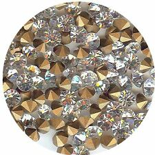 451136**x40 STRASS ANCIENS FOND CONIQUE CRYSTAL 3,55mm ***x40