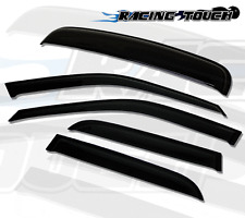 Sun roof & Window Visor Wind Guard Out-Channel 5pcs 2001-2011 Volvo S60